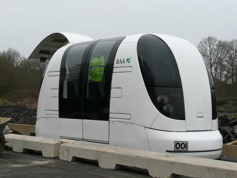 Driverless Transport Pod Trialled in Greenwich