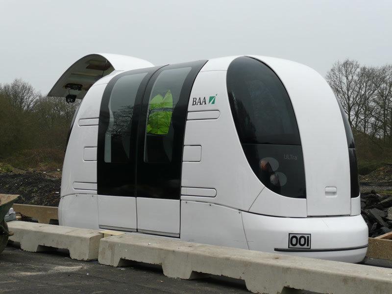 Driverless Transport Pod Trialled in Greenwich